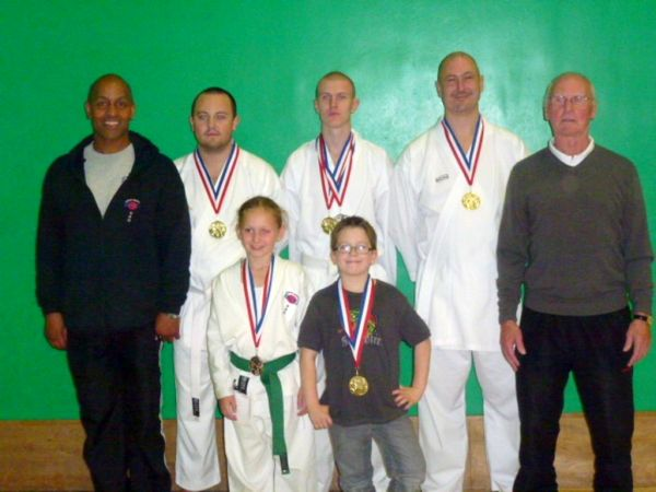 Winners if the Bury open Championships
